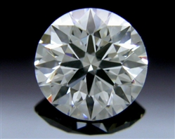 0.376 ct E SI1 A CUT ABOVE® Hearts and Arrows Super Ideal Round Cut Loose Diamond