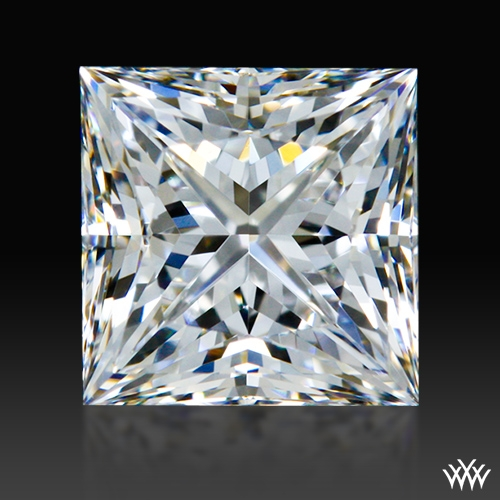 0.717 ct G VVS2 A CUT ABOVE® Princess Super Ideal Cut Diamond