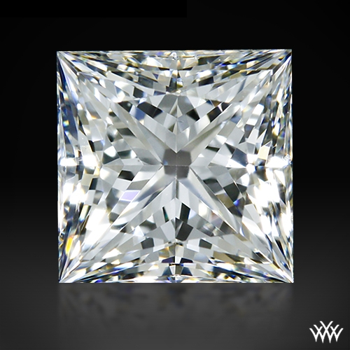 0.718 ct G VS2 A CUT ABOVE® Princess Super Ideal Cut Diamond