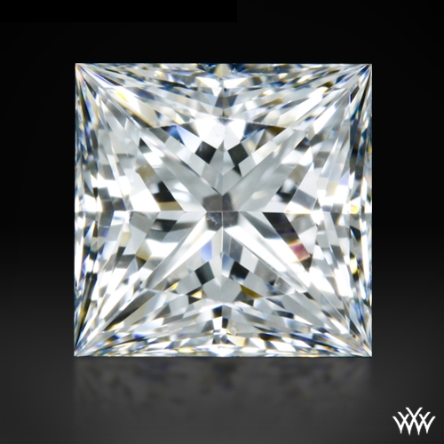 0.714 ct G VS2 A CUT ABOVE® Princess Super Ideal Cut Diamond