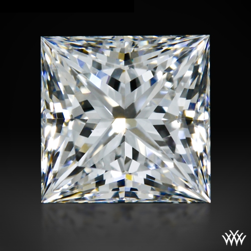 0.72 ct G VS1 A CUT ABOVE® Princess Super Ideal Cut Diamond
