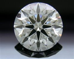 1.214 ct F VS2 A CUT ABOVE® Hearts and Arrows Super Ideal Round Cut Loose Diamond