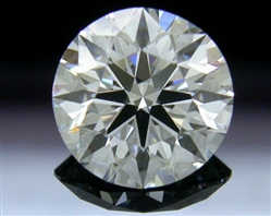 1.206 ct G VS2 A CUT ABOVE® Hearts and Arrows Super Ideal Round Cut Loose Diamond