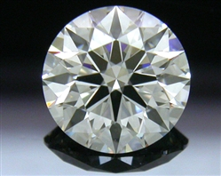 1.24 ct H VS1 A CUT ABOVE® Hearts and Arrows Super Ideal Round Cut Loose Diamond