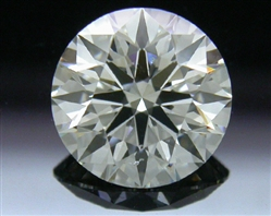 1.214 ct H SI1 A CUT ABOVE® Hearts and Arrows Super Ideal Round Cut Loose Diamond