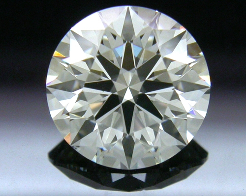1.272 ct I VS2 A CUT ABOVE® Hearts and Arrows Super Ideal Round Cut Loose Diamond