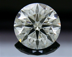 1.248 ct J SI1 A CUT ABOVE® Hearts and Arrows Super Ideal Round Cut Loose Diamond