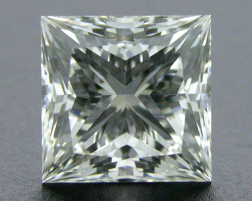 0.71 ct H VS2 A CUT ABOVE® Princess Super Ideal Cut Diamond