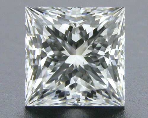 0.71 ct E VS2 A CUT ABOVE® Princess Super Ideal Cut Diamond