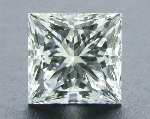 0.74 ct F VS2 A CUT ABOVE® Princess Super Ideal Cut Diamond
