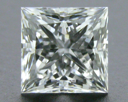 0.54 ct F VS2 A CUT ABOVE® Princess Super Ideal Cut Diamond