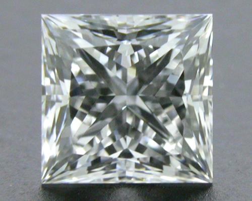 0.54 ct F VS2 A CUT ABOVE® Princess Super Ideal Cut Diamond