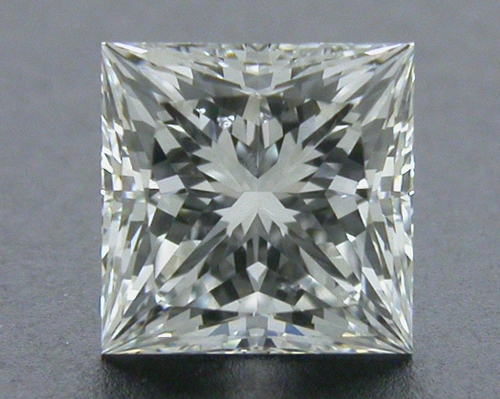0.71 ct G SI1 A CUT ABOVE® Princess Super Ideal Cut Diamond
