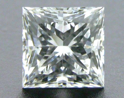 0.55 ct E VS2 A CUT ABOVE® Princess Super Ideal Cut Diamond