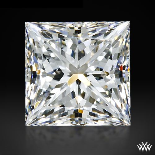 0.708 ct E SI1 A CUT ABOVE® Princess Super Ideal Cut Diamond