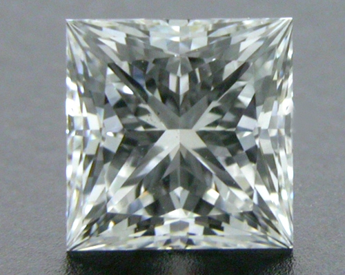 0.70 ct I VS1 A CUT ABOVE® Princess Super Ideal Cut Diamond