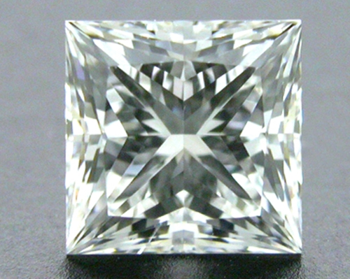 0.51 ct G SI1 A CUT ABOVE® Princess Super Ideal Cut Diamond