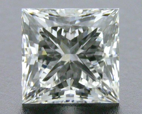0.52 ct H VS2 A CUT ABOVE® Princess Super Ideal Cut Diamond