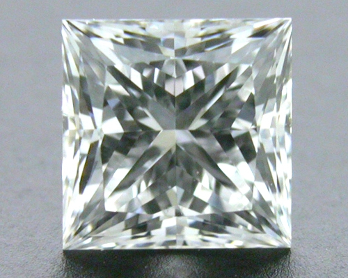 0.59 ct F VS2 A CUT ABOVE® Princess Super Ideal Cut Diamond