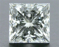 0.53 ct F VS2 A CUT ABOVE® Princess Super Ideal Cut Diamond
