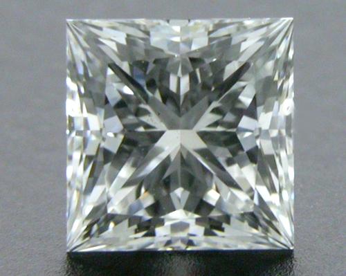 0.62 ct F VS2 A CUT ABOVE® Princess Super Ideal Cut Diamond