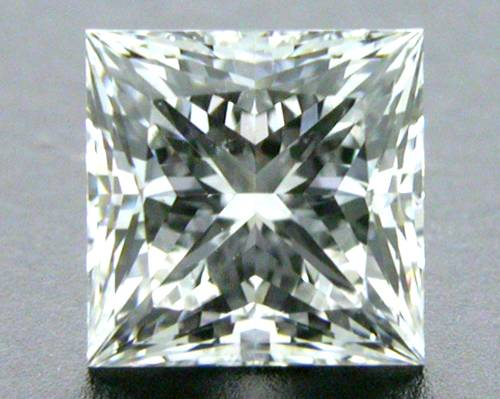0.55 ct F SI1 A CUT ABOVE® Princess Super Ideal Cut Diamond