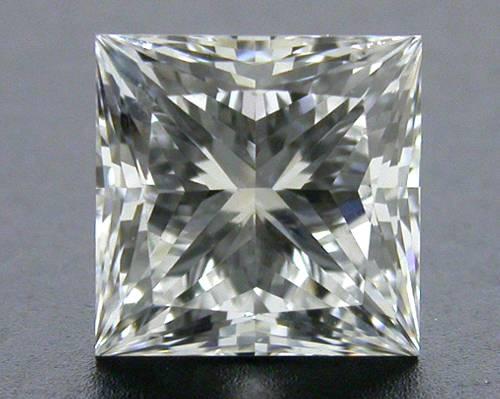 0.73 ct E VS1 A CUT ABOVE® Princess Super Ideal Cut Diamond