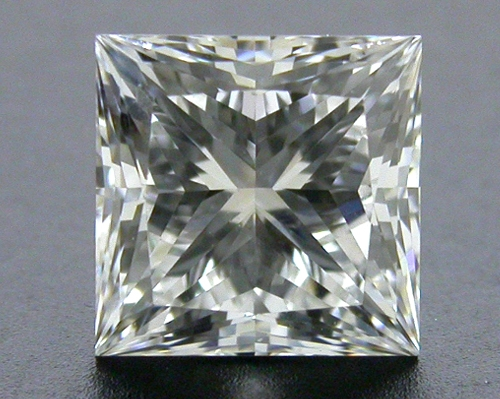 0.73 ct E VS1 A CUT ABOVE® Princess Super Ideal Cut Diamond