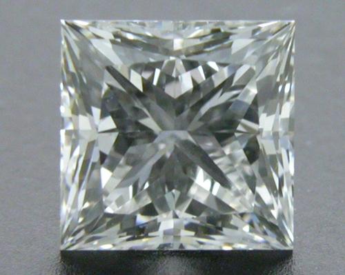 0.70 ct F VS2 A CUT ABOVE® Princess Super Ideal Cut Diamond