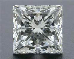 1.05 ct E VS1 A CUT ABOVE® Princess Super Ideal Cut Diamond