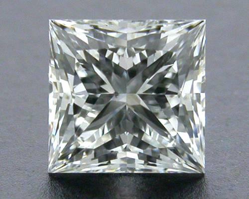 0.52 ct I SI1 A CUT ABOVE® Princess Super Ideal Cut Diamond