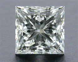 0.52 ct I SI1 A CUT ABOVE® Princess Super Ideal Cut Diamond