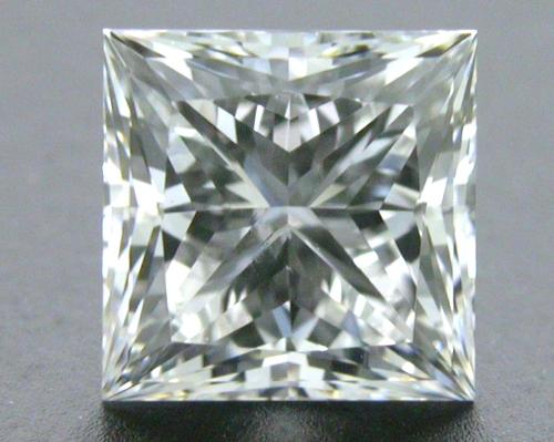 0.61 ct F SI1 A CUT ABOVE® Princess Super Ideal Cut Diamond