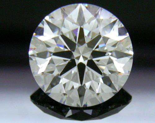 1.624 ct G SI1 A CUT ABOVE® Hearts and Arrows Super Ideal Round Cut Loose Diamond