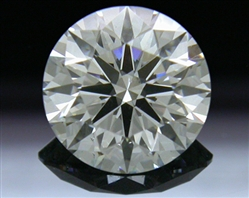 0.818 ct H SI1 A CUT ABOVE® Hearts and Arrows Super Ideal Round Cut Loose Diamond