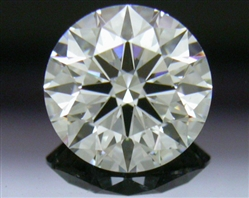 0.816 ct H SI1 A CUT ABOVE® Hearts and Arrows Super Ideal Round Cut Loose Diamond