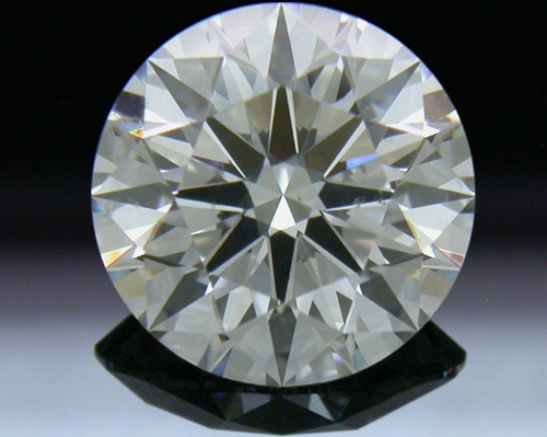 0.837 ct G SI1 A CUT ABOVE® Hearts and Arrows Super Ideal Round Cut Loose Diamond