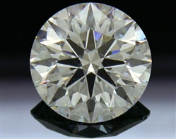0.871 ct H SI2 A CUT ABOVE® Hearts and Arrows Super Ideal Round Cut Loose Diamond