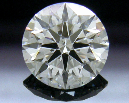 0.855 ct F SI1 A CUT ABOVE® Hearts and Arrows Super Ideal Round Cut Loose Diamond