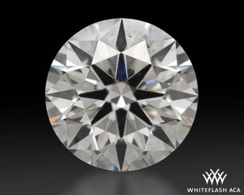 0.83 ct I SI2 A CUT ABOVE® Hearts and Arrows Super Ideal Round Cut Loose Diamond