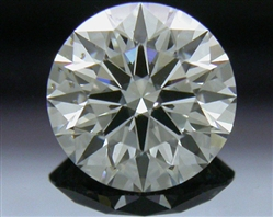 0.806 ct H SI2 A CUT ABOVE® Hearts and Arrows Super Ideal Round Cut Loose Diamond