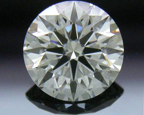 0.725 ct I SI1 A CUT ABOVE® Hearts and Arrows Super Ideal Round Cut Loose Diamond