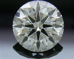 0.85 ct I SI1 A CUT ABOVE® Hearts and Arrows Super Ideal Round Cut Loose Diamond