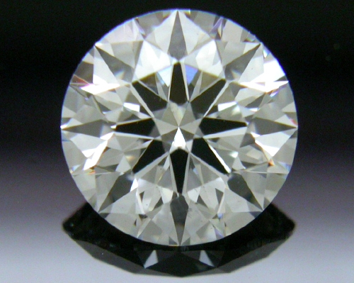 0.744 ct G SI2 A CUT ABOVE® Hearts and Arrows Super Ideal Round Cut Loose Diamond