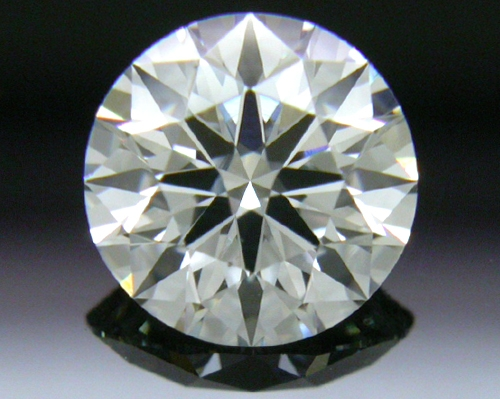0.764 ct F SI1 A CUT ABOVE® Hearts and Arrows Super Ideal Round Cut Loose Diamond