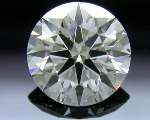 0.761 ct F SI1 A CUT ABOVE® Hearts and Arrows Super Ideal Round Cut Loose Diamond