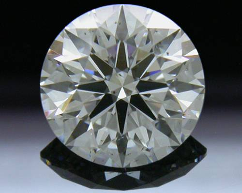 0.796 ct F SI2 A CUT ABOVE® Hearts and Arrows Super Ideal Round Cut Loose Diamond
