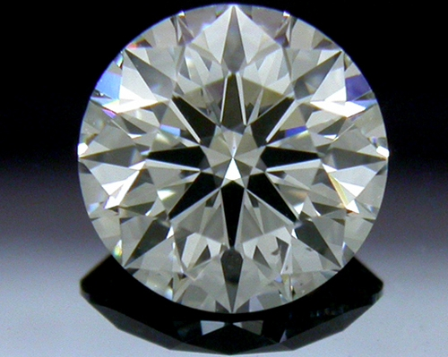 0.797 ct G SI1 A CUT ABOVE® Hearts and Arrows Super Ideal Round Cut Loose Diamond
