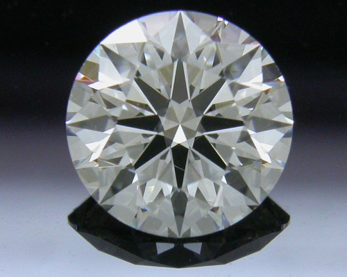 0.826 ct F SI1 A CUT ABOVE® Hearts and Arrows Super Ideal Round Cut Loose Diamond