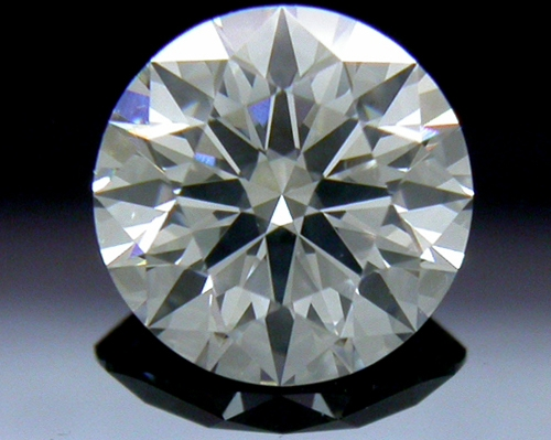 0.754 ct F SI1 A CUT ABOVE® Hearts and Arrows Super Ideal Round Cut Loose Diamond